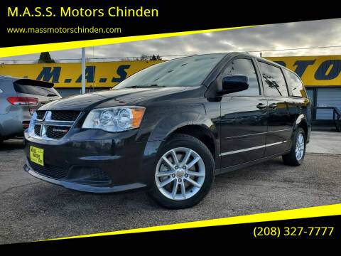 2015 Dodge Grand Caravan for sale at M.A.S.S. Motors Chinden in Garden City ID