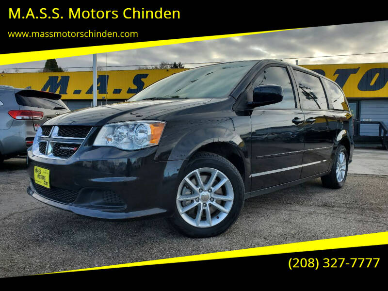 2015 Dodge Grand Caravan for sale at M.A.S.S. Motors Chinden in Garden City ID