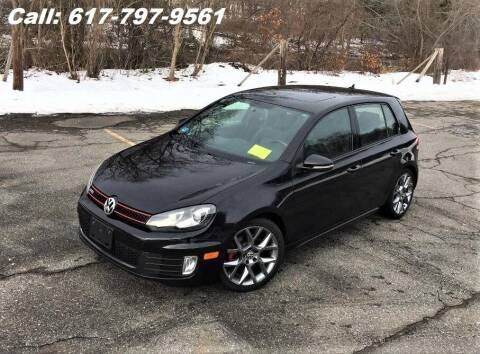 2013 Volkswagen GTI for sale at Wheeler Dealer Inc. in Acton MA