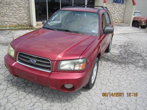 2004 Subaru Forester for sale at Competition Auto Sales in Tulsa OK