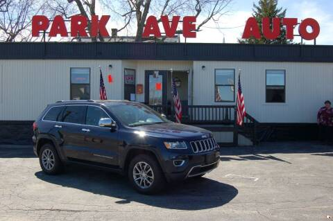 2014 Jeep Grand Cherokee for sale at Park Ave Auto Inc. in Worcester MA