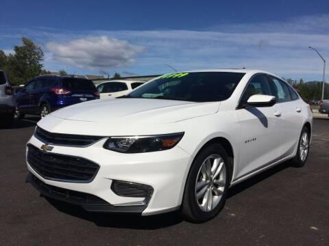 2018 Chevrolet Malibu for sale at Delta Car Connection LLC in Anchorage AK
