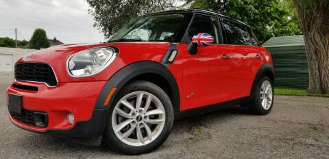 2012 MINI Cooper Countryman for sale at Sinclair Auto Inc. in Pendleton IN