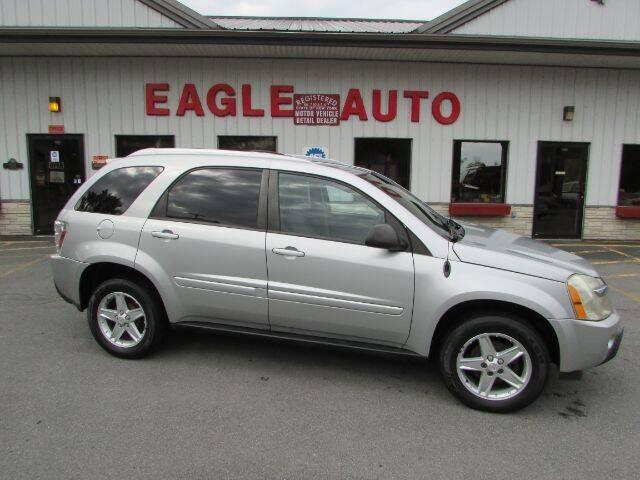 2005 Chevrolet Equinox for sale at Eagle Auto Center in Seneca Falls NY