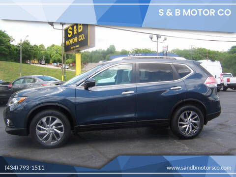 2015 Nissan Rogue for sale at S & B MOTOR CO in Danville VA