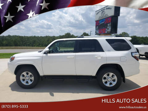 2019 Toyota 4Runner for sale at Hills Auto Sales in Salem AR