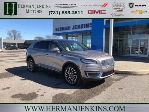 2020 Lincoln Nautilus for sale at Herman Jenkins Used Cars in Union City TN