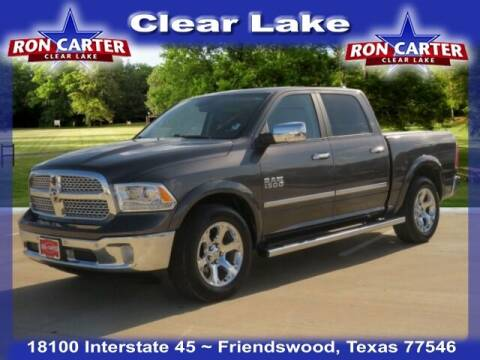 2017 RAM Ram Pickup 1500 for sale at Ron Carter  Clear Lake Used Cars in Houston TX