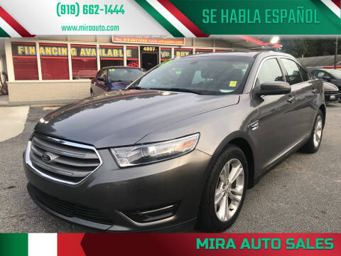 2013 Ford Taurus for sale at Mira Auto Sales in Raleigh NC