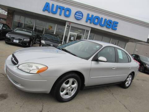 2003 Ford Taurus for sale at Auto House Motors in Downers Grove IL