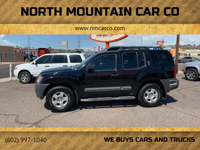 2005 Nissan Xterra for sale at North Mountain Car Co in Phoenix AZ