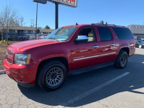 2014 Chevrolet Suburban for sale at South Commercial Auto Sales in Salem OR