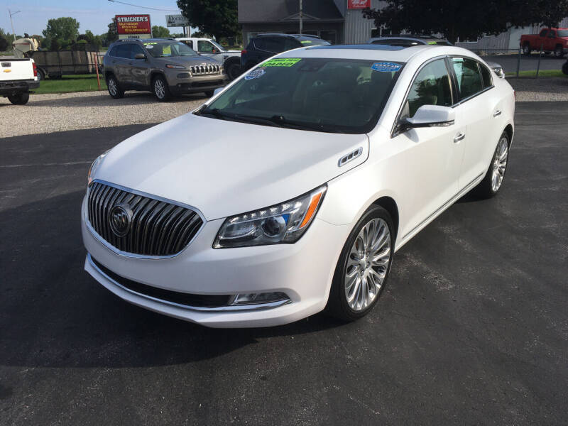 2016 Buick LaCrosse for sale at JACK'S AUTO SALES in Traverse City MI