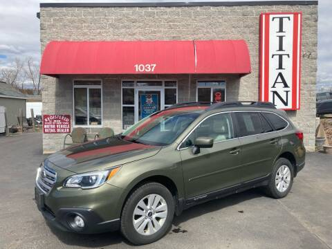 2015 Subaru Outback for sale at Titan Auto Sales LLC in Albany NY