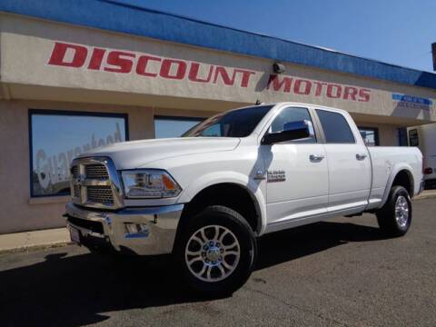 2017 RAM Ram Pickup 2500 for sale at Discount Motors in Pueblo CO