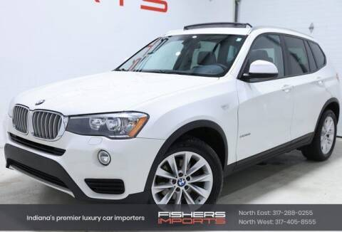 2017 BMW X3 for sale at Fishers Imports in Fishers IN