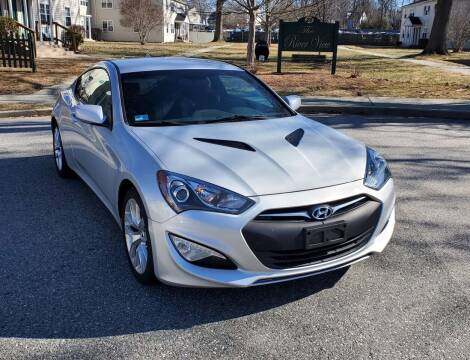 2014 Hyundai Genesis Coupe for sale at SODA MOTORS AUTO SALES LLC in Newport RI