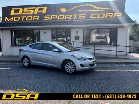 2012 Hyundai Elantra for sale at DSA Motor Sports Corp in Commack NY