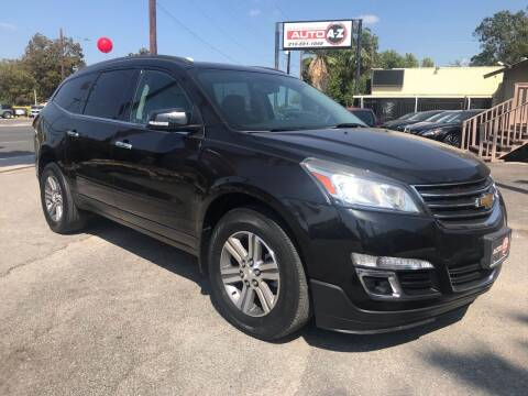 2015 Chevrolet Traverse for sale at Auto A to Z / General McMullen in San Antonio TX