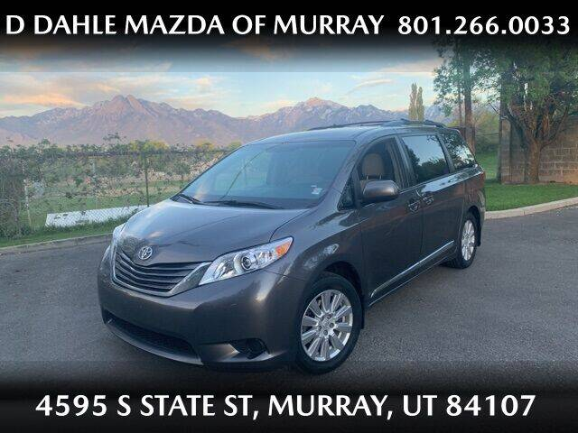 2017 Toyota Sienna for sale at D DAHLE MAZDA OF MURRAY in Salt Lake City UT