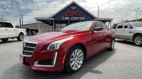 2014 Cadillac CTS for sale at LUNA CAR CENTER in San Antonio TX