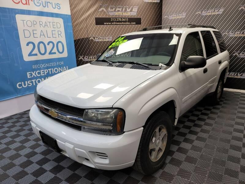 2006 Chevrolet TrailBlazer for sale at X Drive Auto Sales Inc. in Dearborn Heights MI