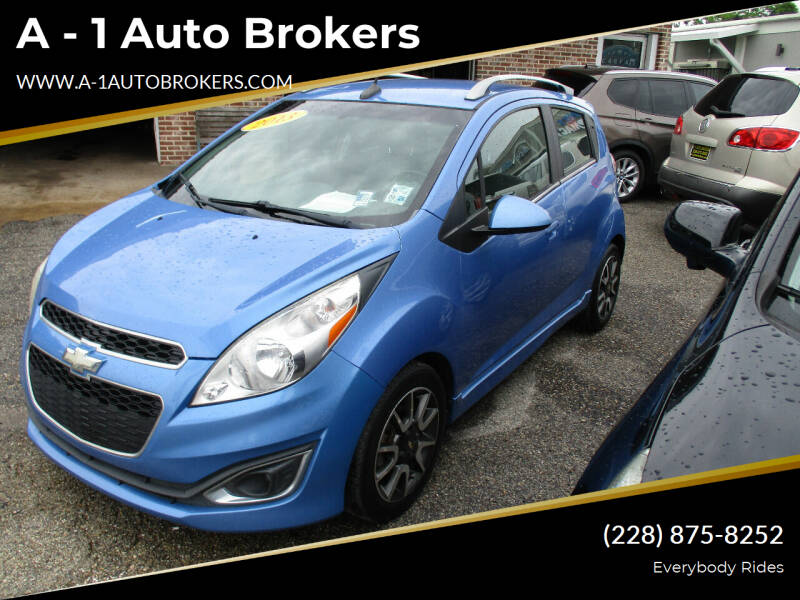 2013 Chevrolet Spark for sale at A - 1 Auto Brokers in Ocean Springs MS