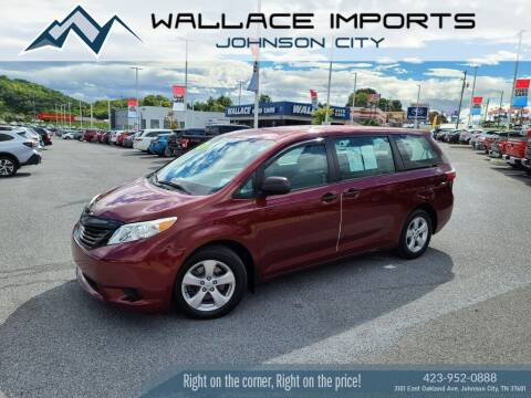 2015 Toyota Sienna for sale at WALLACE IMPORTS OF JOHNSON CITY in Johnson City TN