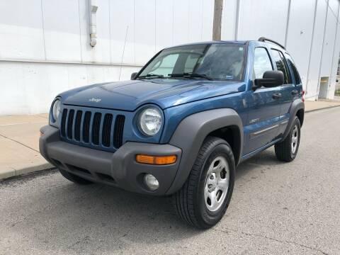 2004 Jeep Liberty for sale at WALDO MOTORS in Kansas City MO