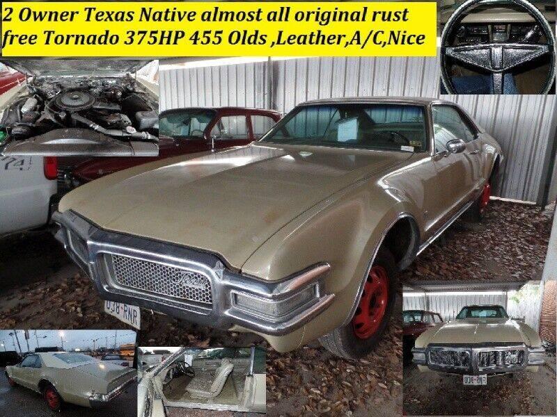 1968 Oldsmobile Toronado for sale at SARCO ENTERPRISE inc in Houston TX