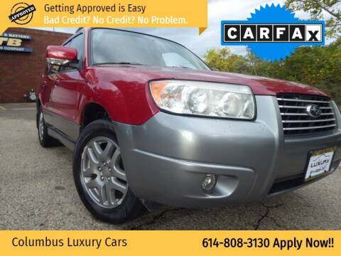2007 Subaru Forester for sale at Columbus Luxury Cars in Columbus OH