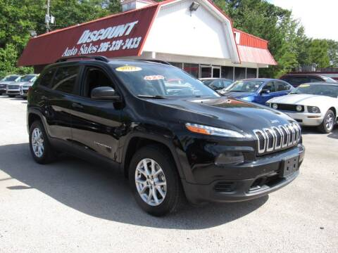 2017 Jeep Cherokee for sale at Discount Auto Sales in Pell City AL