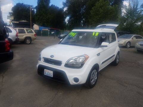 2013 Kia Soul for sale at Bonney Lake Used Cars in Puyallup WA