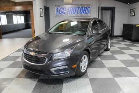 2016 Chevrolet Cruze Limited for sale at TCC Motors in Farmington Hills MI