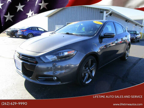 2014 Dodge Dart for sale at Lifetime Auto Sales and Service in West Bend WI