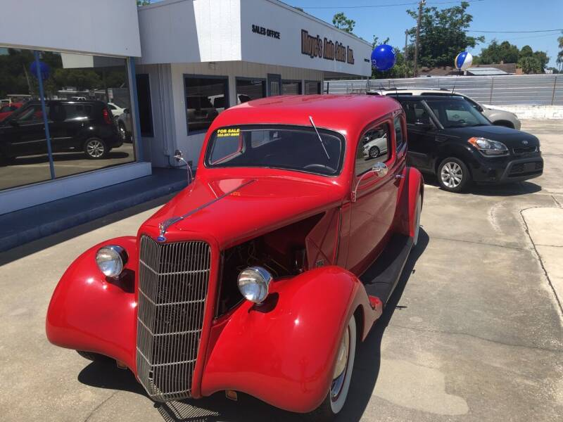1935 Ford Tudor for sale at Moye's Auto Sales Inc. in Leesburg FL