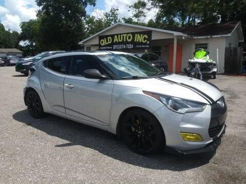 2012 Hyundai Veloster for sale at QLD AUTO INC in Tampa FL