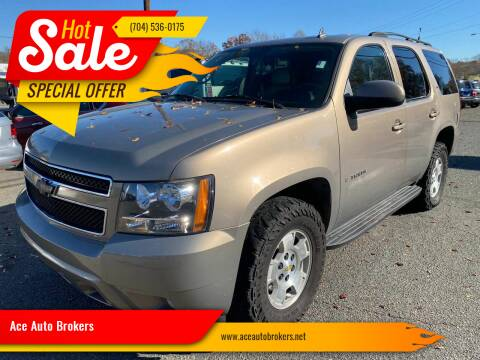 2007 Chevrolet Tahoe for sale at Ace Auto Brokers in Charlotte NC