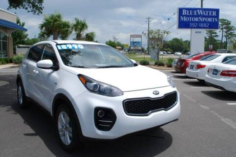 2018 Kia Sportage for sale at BlueWater MotorSports in Wilmington NC