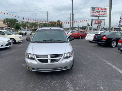 2005 Dodge Grand Caravan for sale at King Auto Deals in Longwood FL