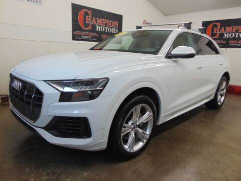 2019 Audi Q8 for sale at Champion Motors in Amherst NH