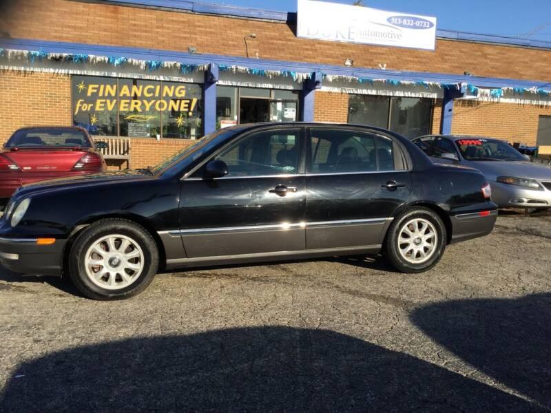 2006 Kia Amanti for sale at Duke Automotive Group in Cincinnati OH