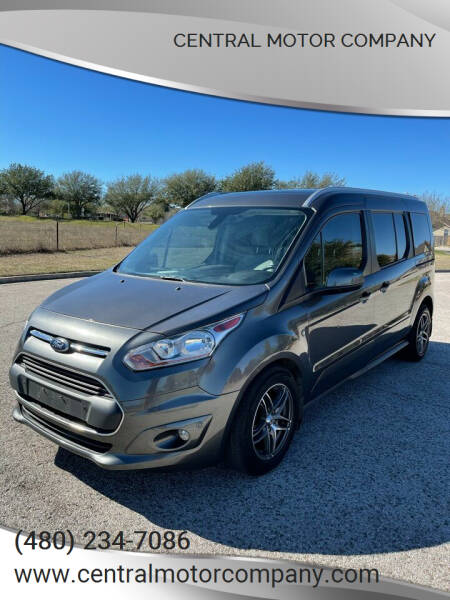 2015 Ford Transit Connect Wagon for sale at Central Motor Company in Austin TX