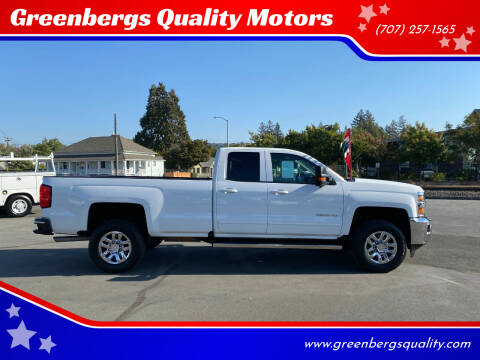 2016 Chevrolet Silverado 3500HD for sale at Greenbergs Quality Motors in Napa CA