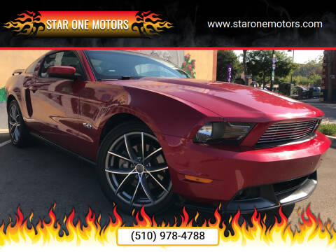 2011 Ford Mustang for sale at Star One Motors in Hayward CA