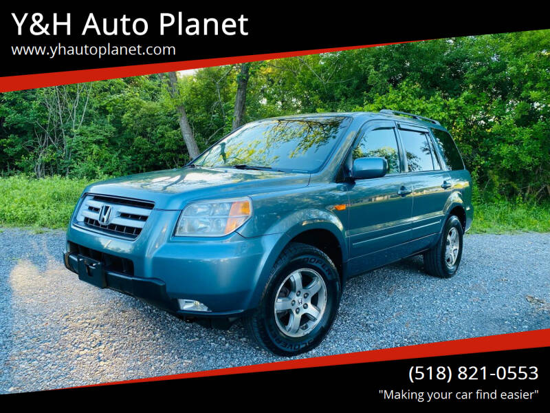 2008 Honda Pilot for sale at Y&H Auto Planet in West Sand Lake NY