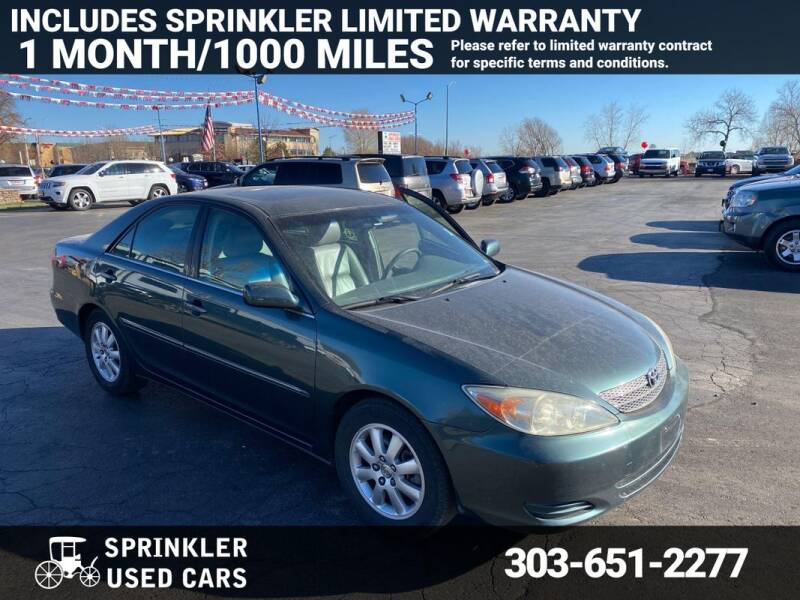 2005 Toyota Camry for sale at Sprinkler Used Cars in Longmont CO