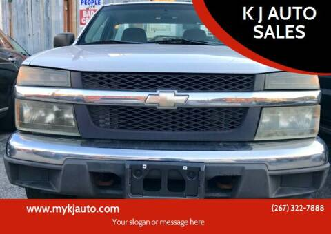 2004 Chevrolet Colorado for sale at K J AUTO SALES in Philadelphia PA