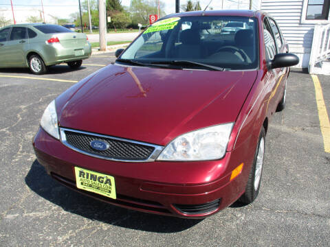 2007 Ford Focus for sale at Ringa Auto Sales in Arlington Heights IL
