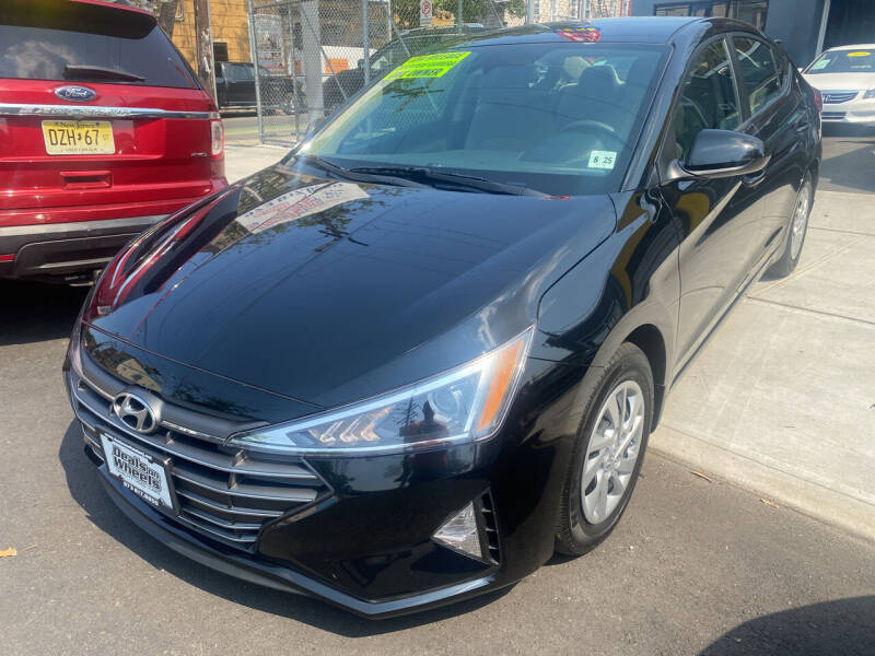 2020 Hyundai Elantra for sale at DEALS ON WHEELS in Newark NJ